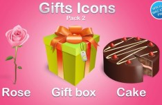 Cute Gift Icons 02