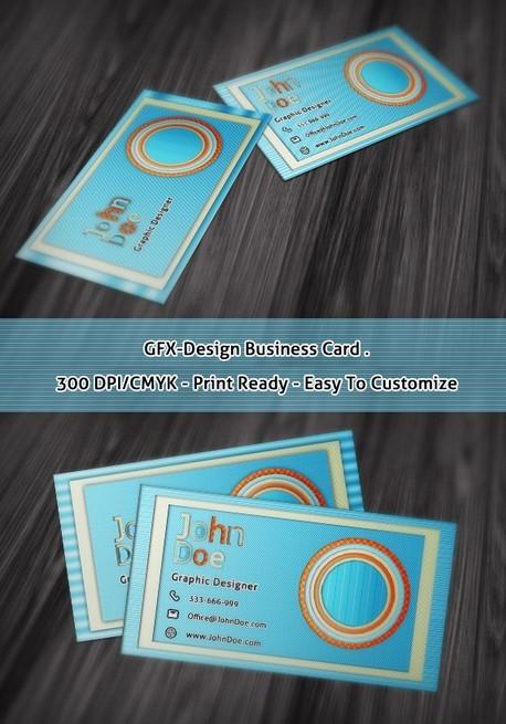 free gfx design business card template psd titanui
