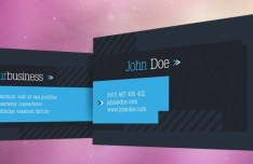 Technix HI-Tech Business Card Template PSD
