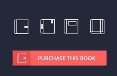 4 Minimal Book Icons PSD