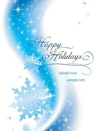 Christmas Snowflakes Background Vector 01