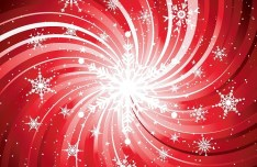 Christmas Snowflakes Background Vector 02