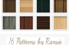 16+ Simple Wood PS Patterns