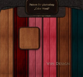 6 Colors Wooden Patterns