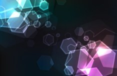 Dark Abstract Shapes Background Vector