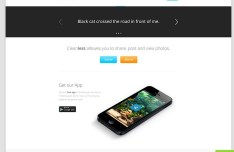 Cleanless Website Mockup Template PSD
