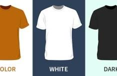 Blank T-Shirt PSD Mockup Template
