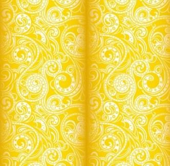 Noble Floral Damask Vector Patterns 03