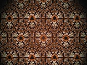 Seamless Floral Damask Ornamental Pattern Background Vector 01