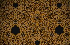 Seamless Floral Damask Ornamental Pattern Background Vector 02