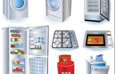 Vector Kitchen Appliances Icons