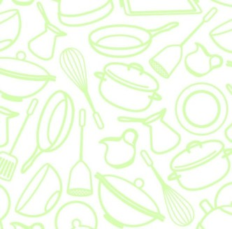 Vector Sketch Foods and Drinks Patterns 02