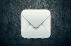 Elegant Mail Icon PSD