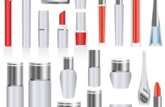 Set Of Vector Cosmetics Products 04