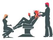 free vector beauty hair salon illustration