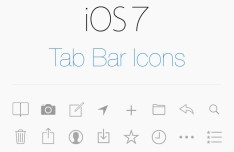 New iOS 7 Style Tab Bar Icons