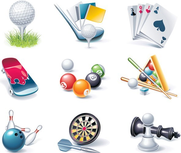 Set Of Vector Sports Icons