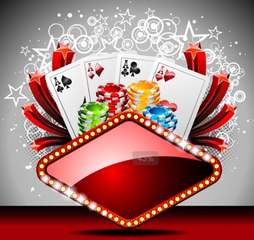 Free Vector Casino Poster Design Elements 04 Titanui