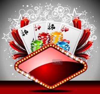 Vector Casino Poster Design Elements 04