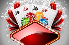 Vector Casino Poster Design Elements 04