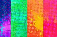 4 Abstract Splash Background Texture