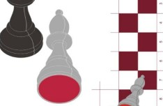 Vector Chess Design Elements Illustration 01