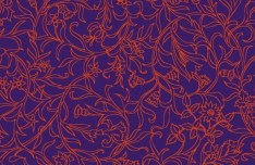 Vector Small Flower Pattern Background 08