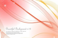 Beautiful Abstract Lines Background Vector 03