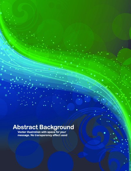 Cool Colorful Flow Lines Background Vector 01