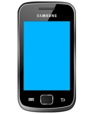 Samsung Galaxy Gio PSD Mockup