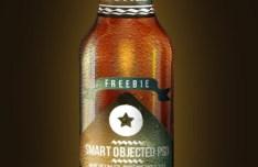 Fresh Beer Bottle Mockup PSD