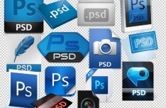 PSD File Icons Pack