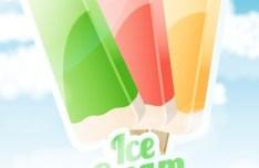 Sweet Ice Cream Vector 04