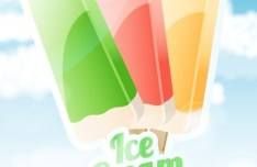 Sweet Ice Cream Vector 04