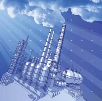 Vector Environmental Protection & Green Energy Design Elements 02