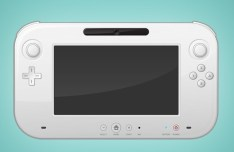 Wii U Controller PSD Mockup