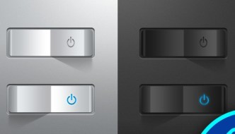 3D Realistic Switches PSD