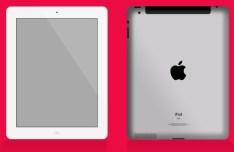 iPad Front and Back Mockup PSD