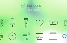 iOS 7 Styled Tab bar Icons