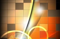 Creative Color Blocks with Abstract Background Vector 03