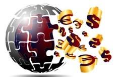 Creative Abstract Globe Logo Vector 04