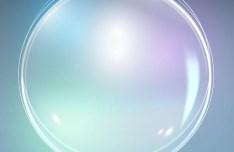 Bright Soap Bubbles Background Vector 04