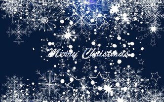 Elegant Snowflakes Background For Christmas Vector 04