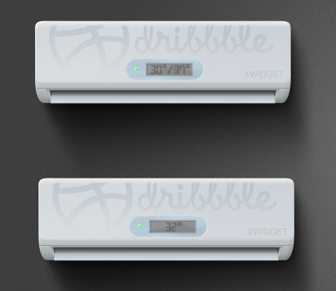 Realistic Air Conditioning PSD