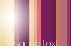 Bright Gradient Color Stripes Background Vector 03