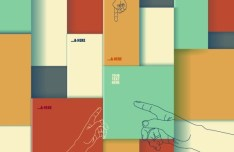 Colorful 3D Boxes Background Vector 04