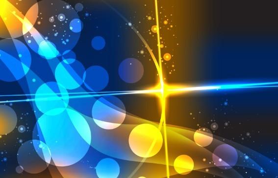 Bright Light HI-Tech Concept Vector Background 04