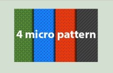 4 Micro Photoshop Patterns
