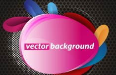 Creative Abstract Label Design Vector 03
