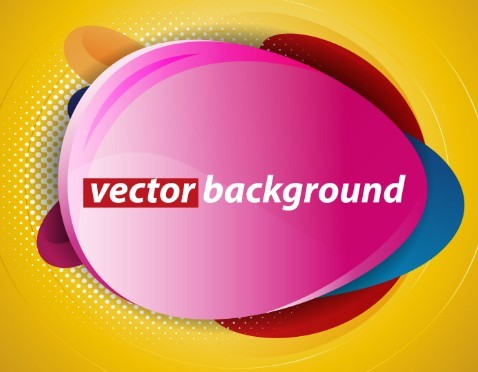 Creative Abstract Label Design Vector 04